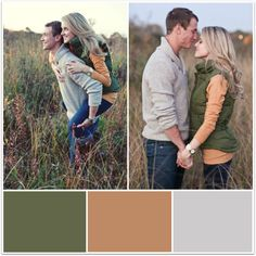 Fall Engagement Photo Outfit Ideas
