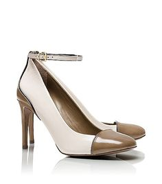 Amazing beige pumps #shoes
