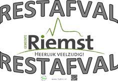 Restafval, Gemeente Riemst, Belgie