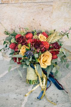 pretty bouquet from lavenders florals