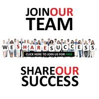 WE SHARE SUCCESS... just visit and start here  http://www.wesharesuccess.com/?refid=dZ8tS