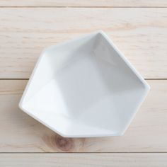 Found it at Wayfair.ca - Large Geometric Ring Dish in White