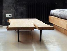 projekt i...: industrialna kamienica - salon, sypialnia