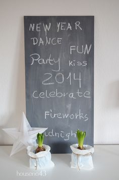 Ein Blog über Dekoration, Einrichten und DIY Best Part Of Me, Fireworks, Chalkboard Quotes, Art Quotes, Blog, Party, Fun, House, Decor