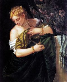Paolo Caliari, Il Veronese (1528-1588) - Lucretia, circa 1583  Discover the coolest shows in New York at www.artexperience...