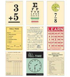 Report Card Wild Cards by October Afternoon - Two Peas in a Bucket Life Journal, Journal Cards, Junk Journal, School Scrapbook, Scrapbook Paper, Scrapbooking, Report Card Template, Back To School Party, October Afternoon
