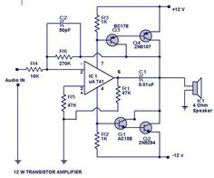 Amp Circuit Electronics Now Schematics Electronic Pictures - Wire ...