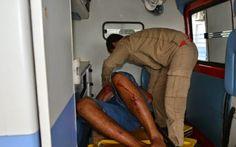 JORNAL O RESUMO - NESTA TARDE EM ARRAIAL JORNAL O RESUMO: Homem de 78 anos cai do 3º andar de sua casa.