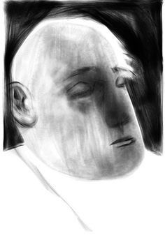 Male Portrait, by Manuel San-Payo - iPhone sketch. Ink Illustrations, Illustration Art, Art Is Dead, Drawing Sketches, Drawings, Time Art, Types Of Art, Art Sketchbook, Figurative Art