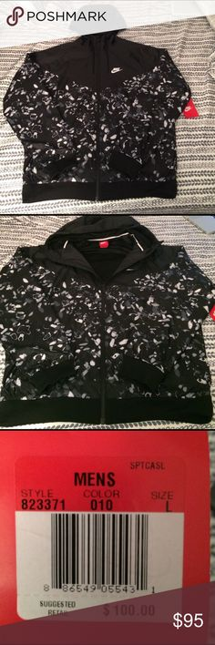 Nike Sportswear Windrunner NEVER BEEN WORN! This windrunner still has tags attached! It is a men's size large jacket. Nike Jackets & Coats Windbreakers