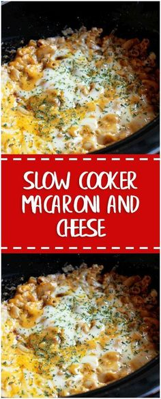 SLOW COOKER MACARONI AND CHEESE WITH 6 CHEESES #whole30 #foodlover #homecooking #cooking #cookingtips