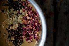 Chai-spiced Molassas Custard