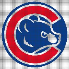 Chicago Cubs (Graph AND Row-by-Row Written Crochet Instructions) - 04