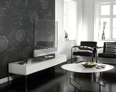 hate how even the nicest tv is an eyesore for your décor? problem solved: transparent LED TV technology!
