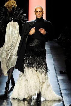 Jean Paul Gaultier Fall 2011 Couture Fashion Show - Tanel Bedrossiantz