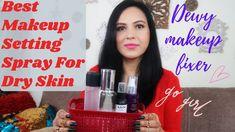 Top 5 Affordable Makeup Fixing Spray For Dry Skin In India Nyx Setting Spray, Best Makeup Setting Spray, Best Cheap Makeup, Best Makeup Products, Makeup Fixing Spray, What Is Makeup, Makeup Starter Kit, Dewy Makeup, Long Lasting Makeup