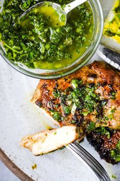Easy Summer Meals, Easy Weeknight Meals, Summer Recipes, Grilled Chicken Thighs, Grilled Meat, Chicken Breasts, Gremolata Recipe, Thing 1, Boneless Skinless Chicken