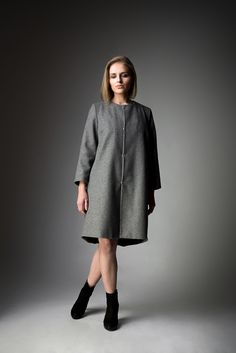 Coat/Płaszcz SCATOLA SS'17 collection BARBARIS Ss 17, Normcore, Coat, Collection, Women, Style, Fashion, Swag, Moda