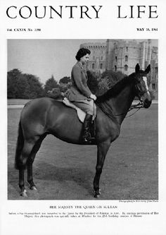 HM The Queen on Sultan. Sultan, a bay thoroughbred, was presented to the Queen by the President of Pakistan in By gracious permission of Her Majesty; this photograph was specially taken at Windsor for the birthday number of Riding. Hm The Queen, Her Majesty The Queen, Queen Mary, Princess Elizabeth, Princess Margaret, Queen Elizabeth Ii, Princess Kate, President Of Pakistan, Defender Of The Faith