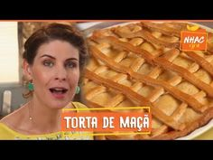 Torta de maçã | Rita Lobo | Cozinha Prática - YouTube My Favorite Food, Favorite Recipes, Bread Recipes, Cooking Recipes, Chefs, Macao, Taste Made, Appetizers, Food And Drink