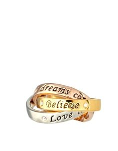 """Disney Couture """"Believe Rings"""" - Oh I want this sooo sooo bad!"""