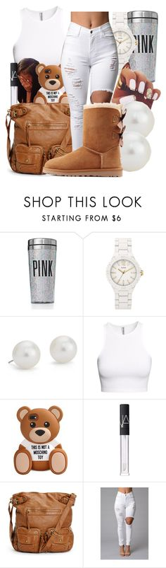 """""""Babygirl Taylor"""" by honey-cocaine1972 ❤ liked on Polyvore featuring Victoria's Secret PINK, GUESS, Blue Nile, H&M, NARS Cosmetics and UGG Australia"""