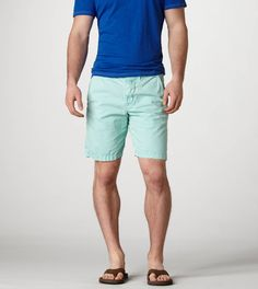Conlan likes pastel shorts