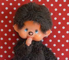 1974 Collectible Monchhichi Doll Futagonomonchhichi Sekiguchi Japan by VintageToysForAll on Etsy Doll Toys, Dolls, Star Cards, Little Twin Stars, Hello Kitty, Im Not Perfect, Kawaii, Japan, Handmade