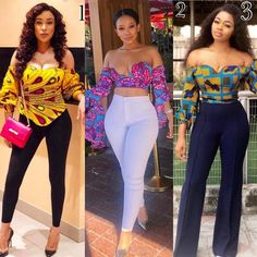 There are several African print crop tops designs that will make bold your fashion statement and put you at the forefront in the world of trending fashion African Print Dresses, African Print Fashion, Africa Fashion, African Fashion Dresses, African Dress, African Prints, African Jumpsuit, Ankara Jumpsuit, Ankara Blouse