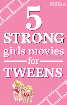 10 awesome movies to watch with your tween daughter- Pop up some popcorn and enjoy these five movies featuring brave, intelligent and adventurous girls—who are far from princesses. Kid Movies, Netflix Movies, Family Movies, See Movie, Movie List, Good Movies To Watch, Awesome Movies, Good Movies For Kids, Breaking Bad