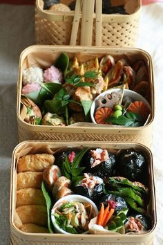 Japanese Bento Boxed Lunch 弁当 We love these! Japanese Lunch, Japanese Dishes, Japanese Food, Bento Recipes, Cooking Recipes, Cooking Tips, Food Porn, Little Lunch, Cocinas Kitchen