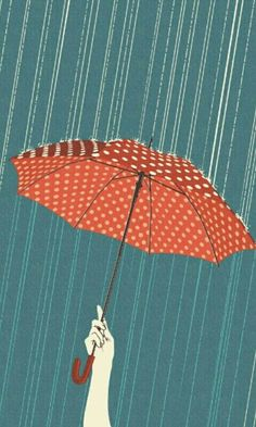 Can you catch more raindrops if you hold the umbrella up higher?