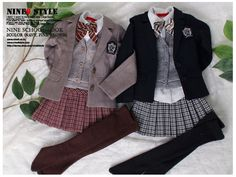 Nine9 Style (clothes of ball jointed doll, BJD) || Laela and Zahira still go to school!