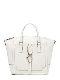 Felicity Leather Convertible Tote by Milly