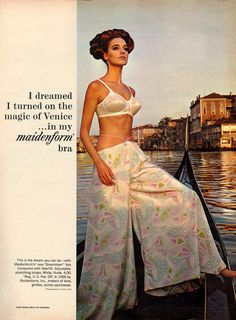 Maidenform bra ad from 1966.