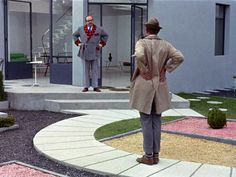 Mon Oncle (Gaumont, 1958) – Director: Jacques Tati.