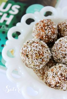 Have a sweet tooth? You must try this recipe for Joyous Health raw carrot cake balls. A delicious dessert or snack that's easy to make and good for you too!