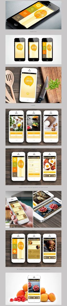 What's Cooking App Design