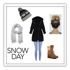 """""""Snow Day"""" by emily-maya ❤ liked on Polyvore featuring New Look, WithChic, UGG and Witchery"""
