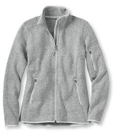 Women's Bean's Sweater Fleece Jacket   Free Shipping at L.L.Bean
