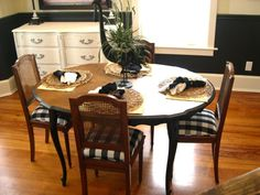 French Dining Table by ChairWhimsy on Etsy, $225.00