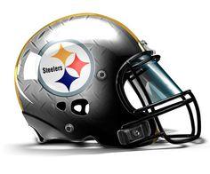 Steelers Helmet, Football Helmet Design, Nfl Football Helmets, Football Tailgate, Football Uniforms, Steelers Football, Nfl Superbowl, Steelers Terrible Towel, Pittsburgh Sports