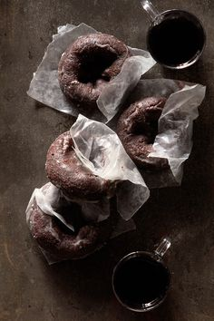 Chocolate Doughnuts | BHG Delish Dish