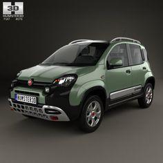 Fiat Panda Cross 2014 3D Model .max .c4d .obj .3ds .fbx .lwo .stl @3DExport.com by humster3D