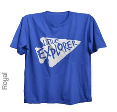 Little Explorer - Short Sleeve Toddler Tshirt | Trendy Kids Clothes | Graphic Tee | Baby T-Shirt | Also on Etsy