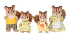 Famille écureuil roux - Sylvanian