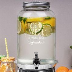 Słój na lemoniadę z kranikiem RODZINNE NAPOJE