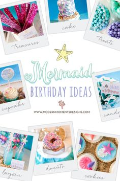 Summer is almost here and it's the perfect time to throw a Mermaid Birthday Party. Check out all of our Mermaid Birthday Party Ideas today. Mermaid Birthday, 2nd Birthday, Birthday Ideas, Birthday Parties, Shark Cupcakes, Big Party, Amazing Ideas, Party Ideas, In This Moment