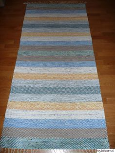 Rag Rugs, Tear, Rug Making, Scandinavian Style, Pattern Design, Recycling, Weaving, Textiles, How To Make