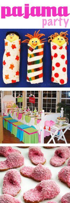 Pajama Party Ideas- Love Love LOVE pajama party themes!